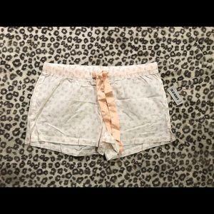 Old Navy pajama shorts size medium 100% cotton NWT